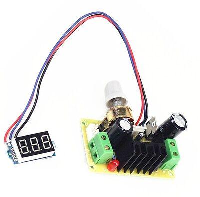 Lm317 Step-down Power Module Adjustable Dc Regulator Power Supply Board Ca New