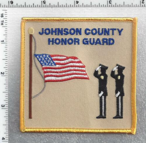 Johnson County Honor Guard  (Kansas) 1st Issue Shoulder Patch