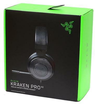 New Razer Kraken Pro V2 USB Analog Gaming Headset for PC Mac PS4 Xbox One