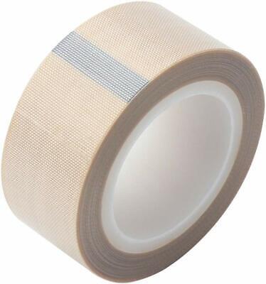 1 X33ft White Teflon Tape Ptfe 180um Thicker 662 Adhesive High Temp Fiberglass