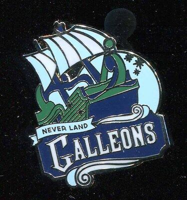 DLR Mascots Mystery Neverland Galleons Disney Pin 116049