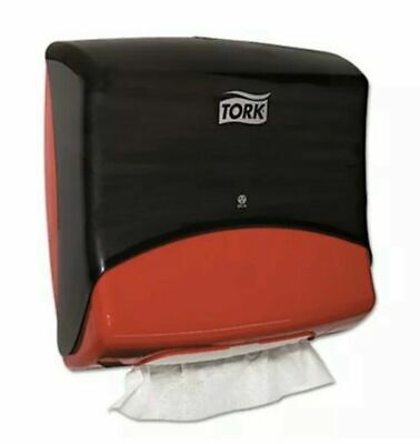 Tork Performance Folded Wipercloth Dispenser Plastic Red Trk6540281