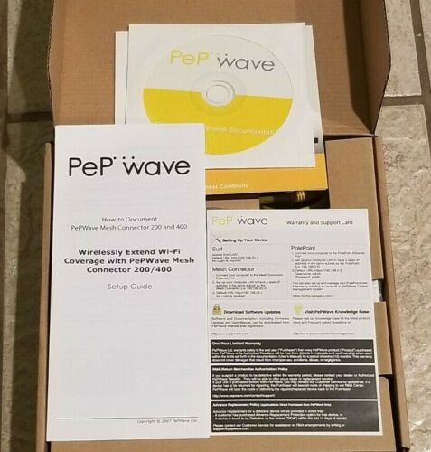 Pepwave Mesh Connector 400 with POE Injector
