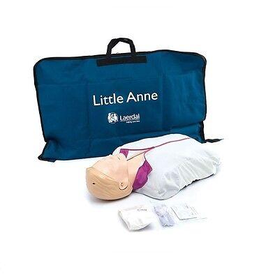 LAERDAL Little Anne Erste-Hilfe CPR HLW-Übungspuppe NEU