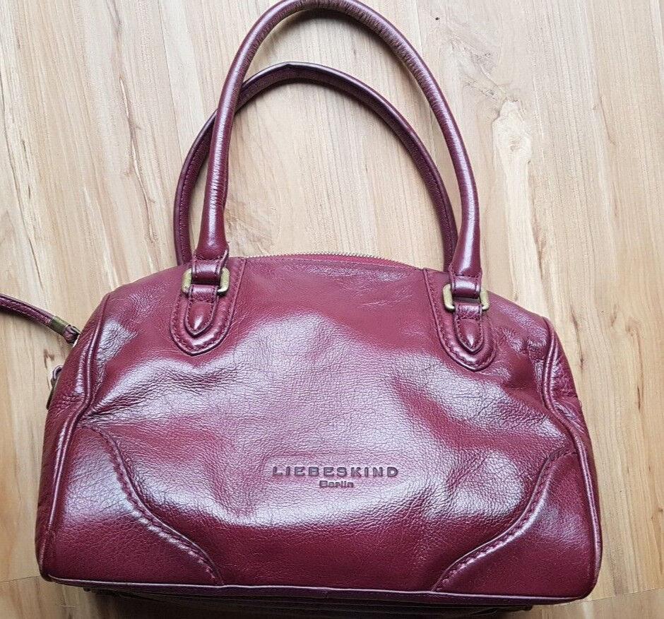 9bb85b8255f99 Handtasche Rot Liebeskind Test Vergleich +++ Handtasche Rot ...
