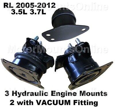 9R3520 3Hydraulic Motor Mounts fit 2005 2006 2007 2008 - 2012 Acura RL V6 Engine