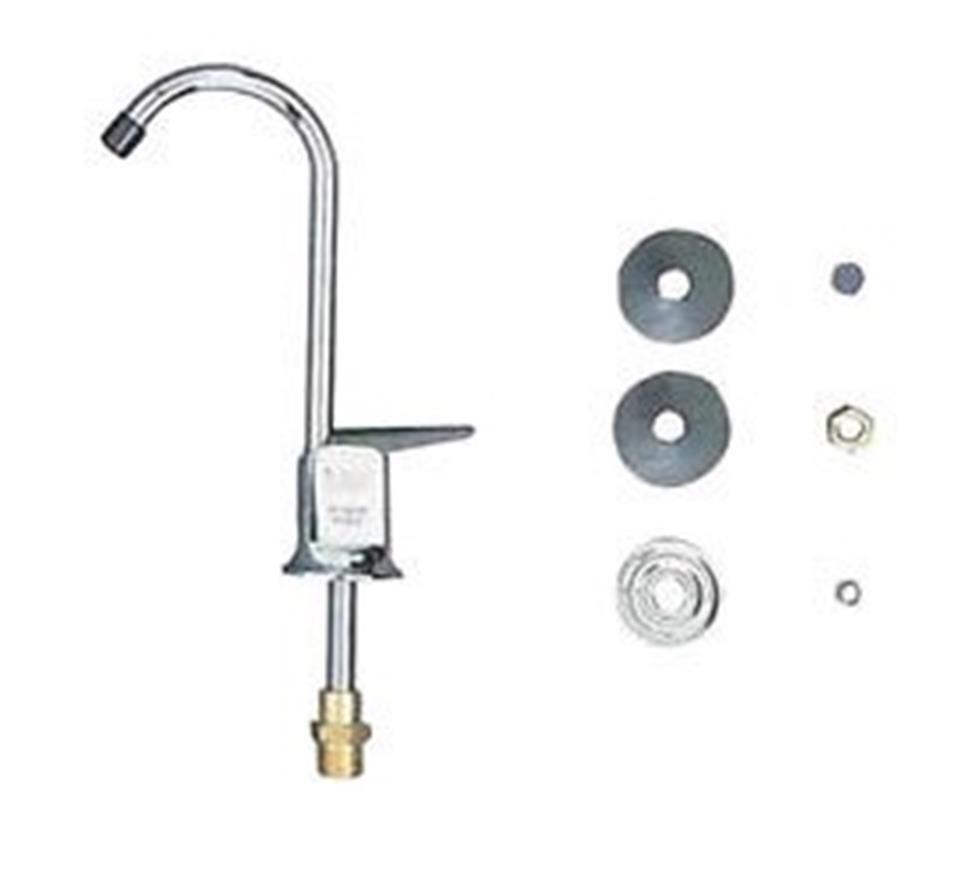 Rubinetto acqua con levetta per filtro depuratore SEAGULL IV ITS Todini 10.17