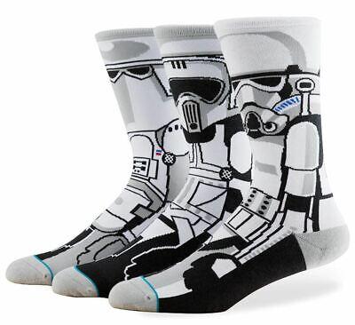*NEW* Star Wars Stance Socks Trooper Medium (6-8.5) 3 Socks Only