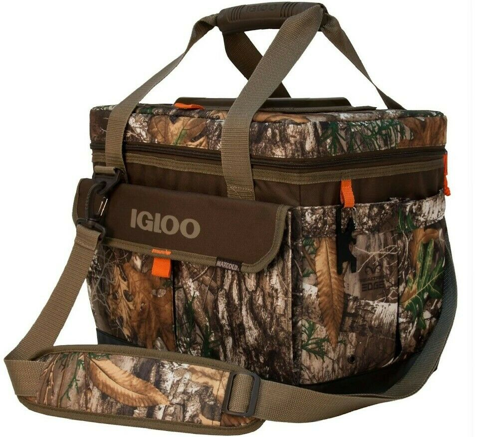 Igloo Realtree Square 30-Can Cooler Bag - Camouflage Cooler