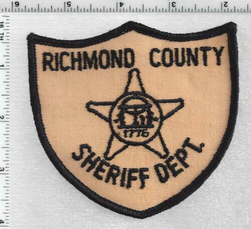 Richmond County Sheriff