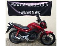 Honda CB 125 F 2016 Learner Legal Low Mileage Great Condition