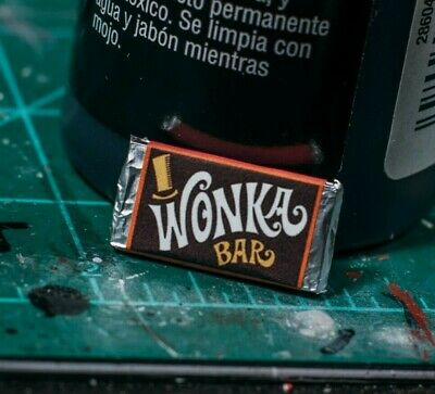 Willy Wonka Chocolate Bar PROP ONLY Marvel Legends, NECA 1/12