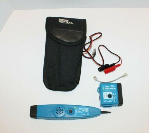 Ideal Amplifier Probe 62-164 Tone Generator 62-160 w/ Case & Tethers