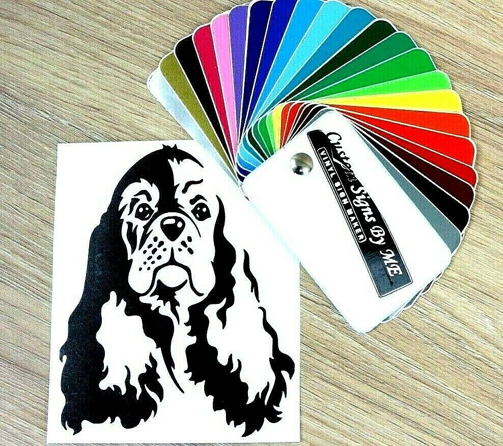 Cocker Spaniel Mom Sticker Die Cut Vinyl english