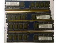 Nanya DDR2 RAM 4x1GB 240 pin PC2 6400 666