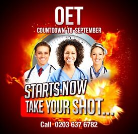 OET (Occupational English Test) alternative to IELTS for doctors & nurses - countdown starts NOW