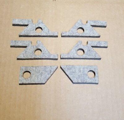 Bridgeport Mill J Head Saddle Knee Felt Way Wiper Kit M1601 .150 Thick