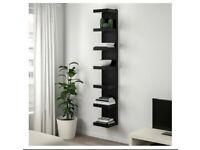 Ikea Lack Wall Shelf Unit Black (Brand New)