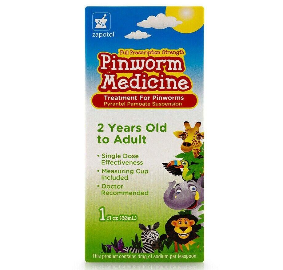 1 Pinworm Medicine Zapotol 1oz / Lombrisaca Intestinal Medicina Zapotol 1oz