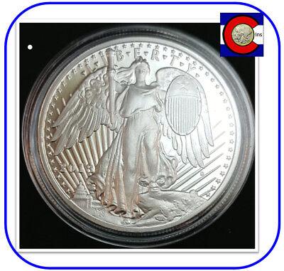 2018 Fourty Dollars Daniel Carr Saint-Gaudens Winged Liberty 1 oz 0.999 Silver