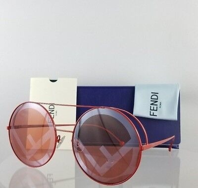 fa460c17a5de Brand New Authentic Fendi FF 0285 S Sunglasses 0C9A0L Red 63mm Frame 0285