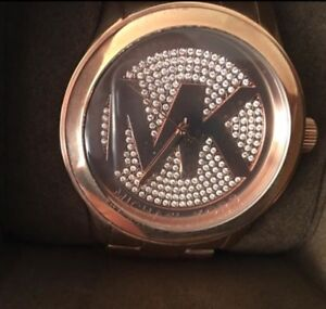 Authentic Michael Kors rose gold female watch