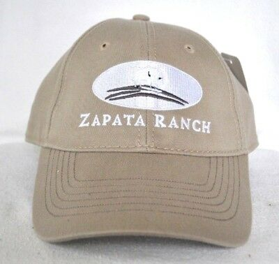 *ZAPATA RANCH* Cattle Bison Structured Ball cap hat OURAY Nature Conservancy
