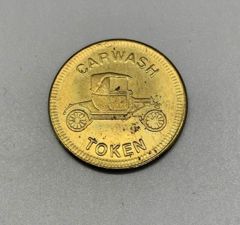 VTG Car Wash Token No Cash Value