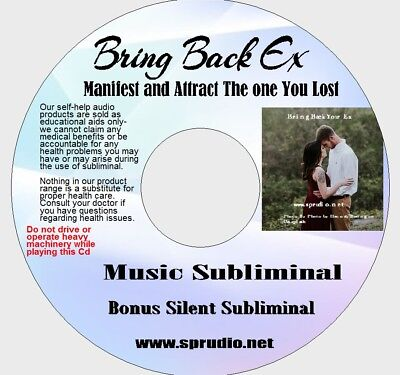 Get your EX Back - Bring Back ex Boyfriend, ex Girlfriend, Subliminal Music CD