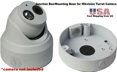 Junction Box/Mounting Base Hikvision Turret Camera DS-2CD23x2 White 1Pack