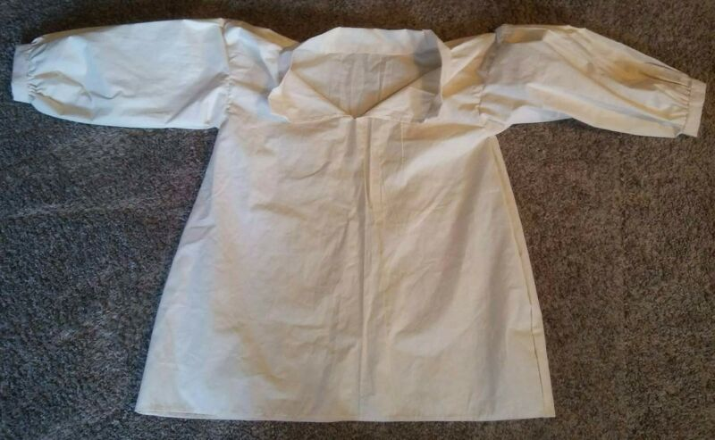 hand stitched colonial 18th century or SCA cotton pirate shirt Sm To 3X f&I SCA