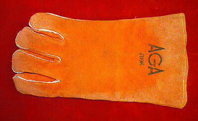 AGA 2119K Leather Welding Glove / Size Large **JUST RIGHT HAND **