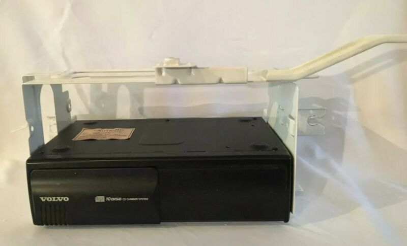 Volvo10 Disc CD Changer 9472002-1 ~ OEM with mounting bracket