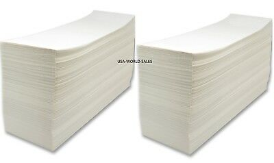 """Made in USA 4000 Fanfold 4x6""""Labels For Zebra Thermal Printer/UPS/Fedex/Barcode"""