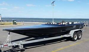 Rival 21' Race ski boat Hull, And galvanizd trailer (no engine) Mandurah Mandurah Area Preview