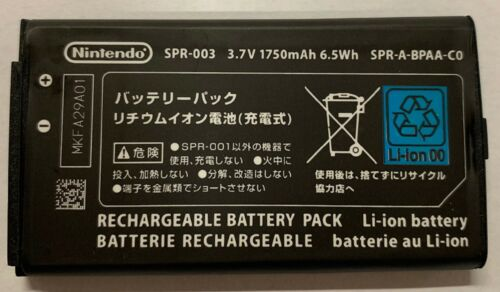 New Official Original OEM Nintendo 3DS XL Battery Replacement SPR-003 1750mAh