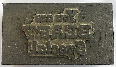 Kwikprint You Are Beary Special Hot Foil Printing Embossing Die