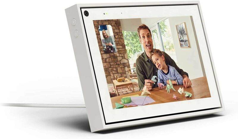 Portal from Facebook. Smart Video Calling with Alexa Built-in - White