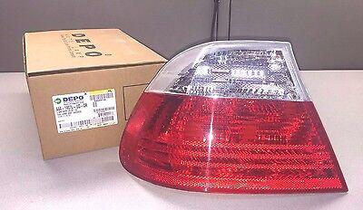 Depo - 444-1907L-UQ-CR - 1998-02 BMW 3 Series - LH Tail Lamp Unit