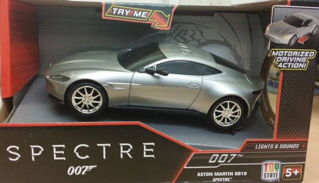 James Bond 007 - Spectre Aston Martin DB10 with Lights and Sounds - Brand New
