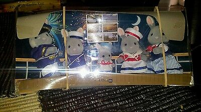 New And Rare Sylvanian Families Sea Breeze Sailor Rabbit Family Dolls, Clothing & Accessories