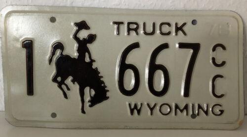KFZ Kennzeichen USA Wyoming