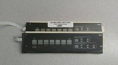 OKI 320 321TURBO CONTROL PANEL ASSEMBLY WITH BOARD