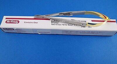 Curved Castroviejo Needle Holder Perma Sharp 14 Cms 5.5 Hu Friedy
