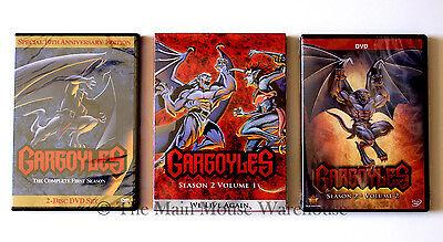 Amazing Disney Channel Gothic Cartoon Gargoyles Complete Seasons 1 & 2 on DVD