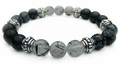 BALANCE of MIND, BODY, & SPIRIT 8mm Crystal Intention Bracelet - Healing Stone