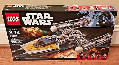 LEGO Star Wars Y-Wing Starfighter 75172, Brand New - Retired, Authentic!
