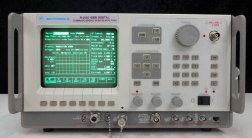 Motorola R2660C Digital Communications System Analyzer