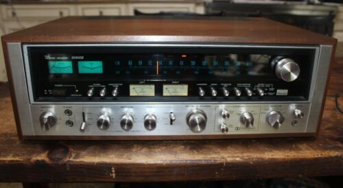 Sansui Model 9090DB Stereo Receiver, Good Solid Condition, TESTED Read Desc