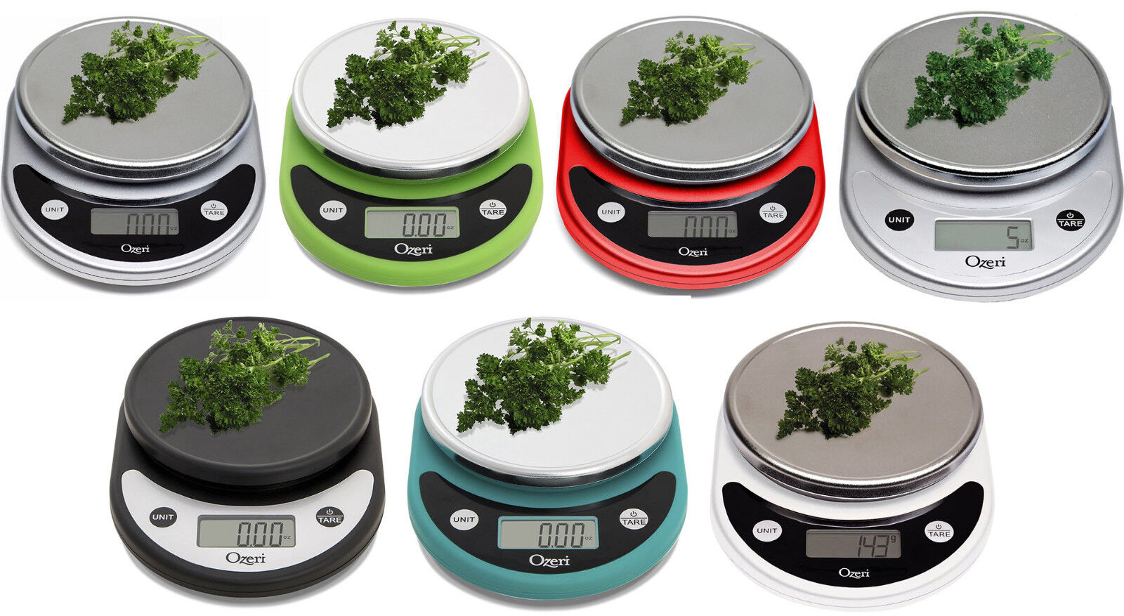 Ozeri Pronto Digital Multifunction Kitchen and Food Scales,